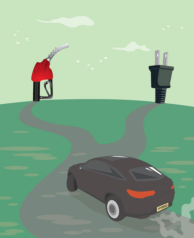 China's auto market: Electric or gas?