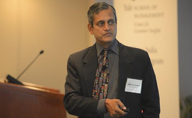 Venkatesh Shankar, Coleman Chair Professor in Marketing at Texas A&M's Mays Business School