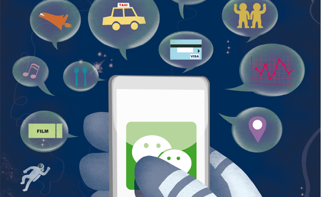 Tencent and the WeChat galaxy of services